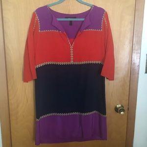 BCBGMaxAzria Color Block dress